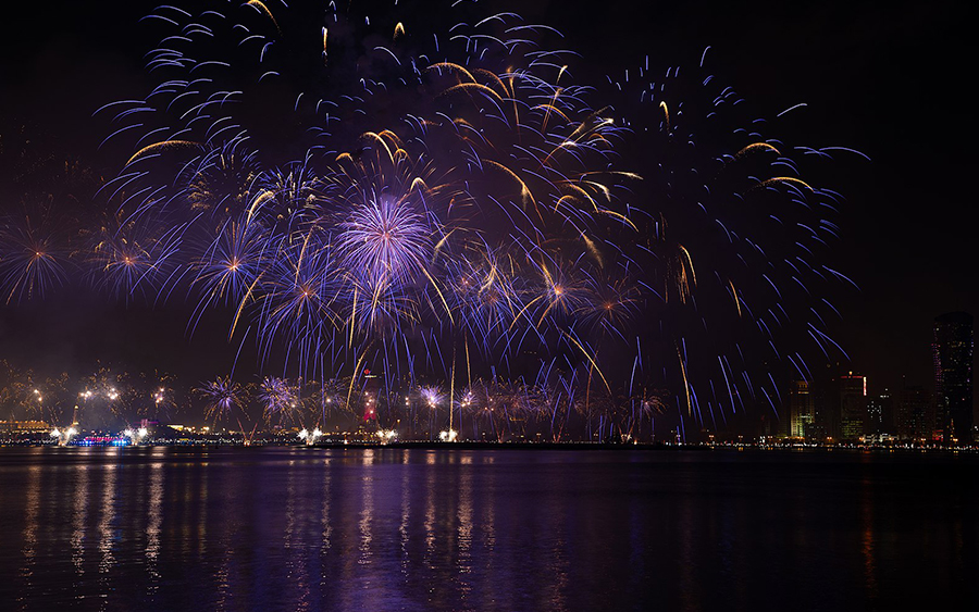Eleate > Nos Réalisations > Spectacle > Independance Day - Doha (QUATAR)